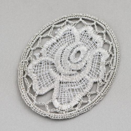 Collana Bijoux Con Pietre Cristalli Perle e Marcasite 96cm MOD6