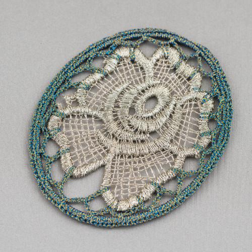 Collana Bijoux Con Pietre Perle E Cristalli MOD66914 95cm Laterali Colori Misti