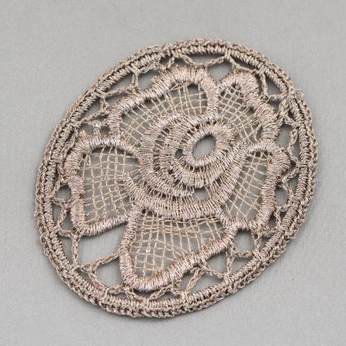 Collana Bijoux Con Pietre Perle E Cristalli MOD66914 95cm Rosa Laterali Colori Misti