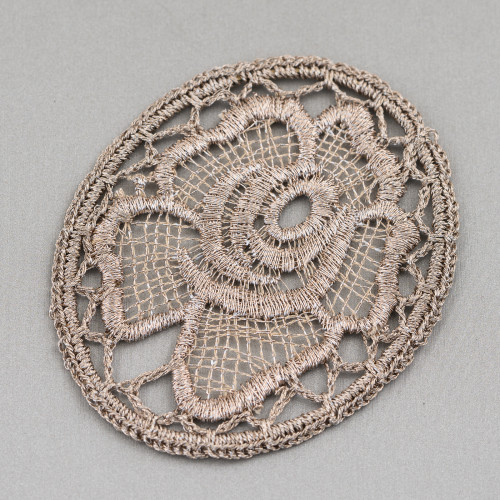 Collana Bijoux Con Pietre Perle E Cristalli MOD66914 95cm Rosa