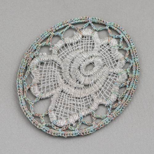 Collana Bijoux Con Pietre Perle E Cristalli MOD67173 95cm MOD2