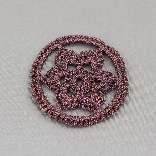 Perle di Fiume Bottoni Cabochon1 Foro 10,5-11,0mm 24 Paia Bianco