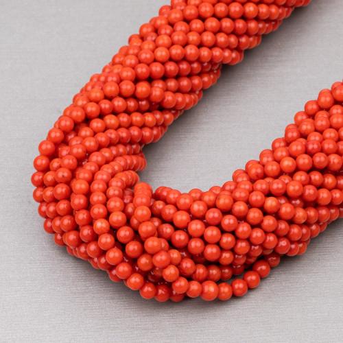 Perle di Fiume 1 Foro Tonde (AAAA) 10,0-10,5mm 10 Paia Grigio