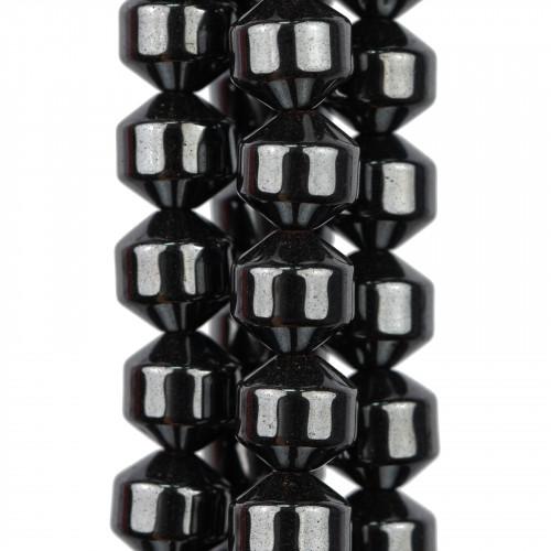 Cristallo Nero Sfaccettato 12mm