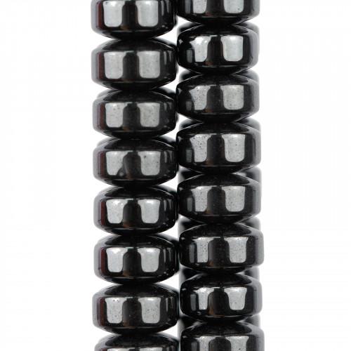 Cristallo Nero Sfaccettato 14mm