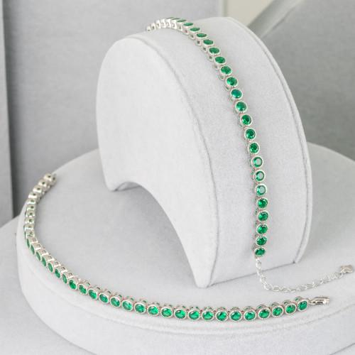 Aragonite Verde Tondo Liscio 10mm