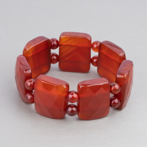 Diaspro Rosso Multicolor Tondo Liscio 10mm