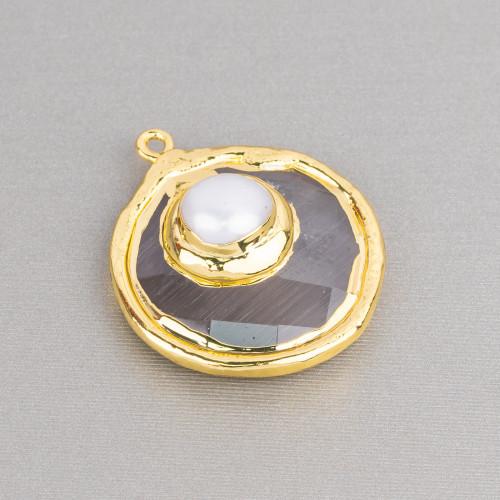 Perle di Maiorca Rosa Barocca Irregolare 13x18mm