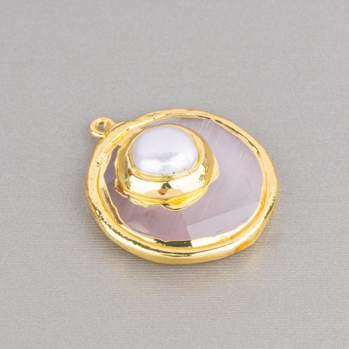 Perle di Maiorca Turchese Barocca Irregolare 13x18mm