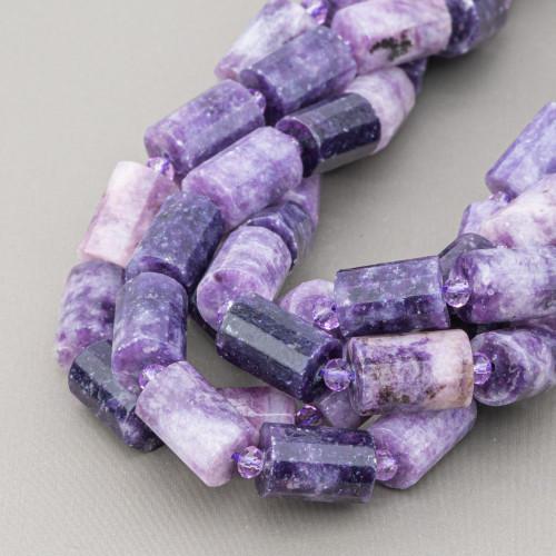 Quarzo Cipria Tondo Piatto Liscio 16mm