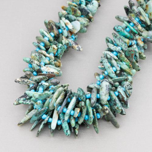 Riolite Gocce Briolette Sfaccettate 15x20mm