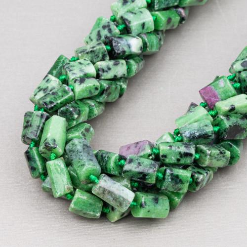 Riolite Gocce Piatto Sfaccettato 20x30mm