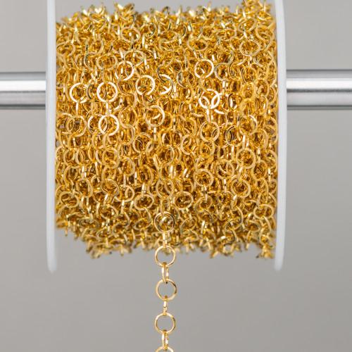 Perle di Maiorca Grigio Argento Tondo Piatto Liscio 16mm