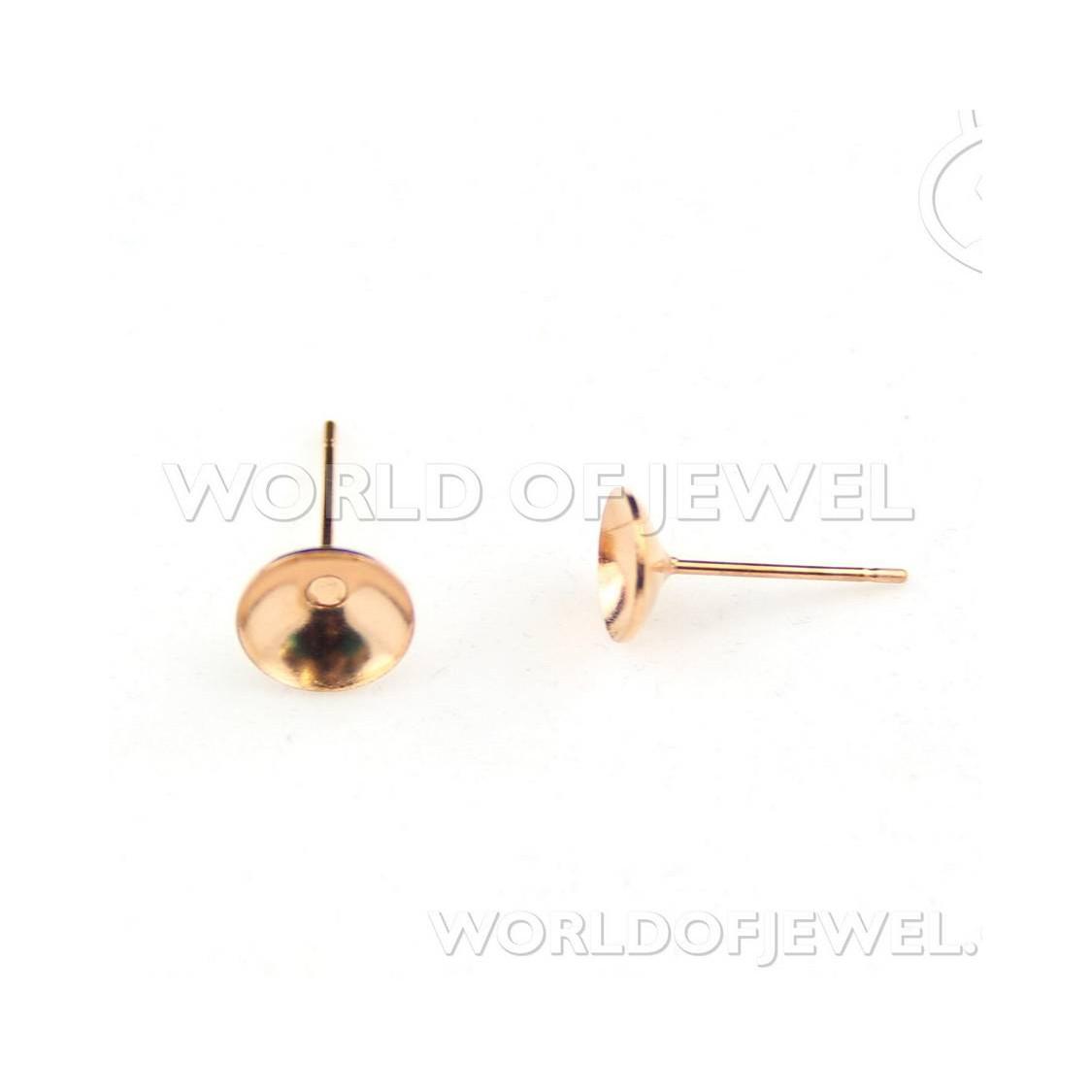 Ciondolo di Argento 925 E Corniola - Tondo Piatto Sfaccettato 40mm