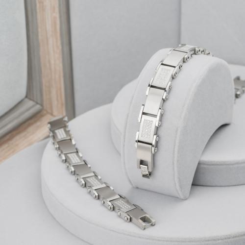 Ciondolo Di Ottone Rodiato E Madreperla Con Strass Stella 40x60mm