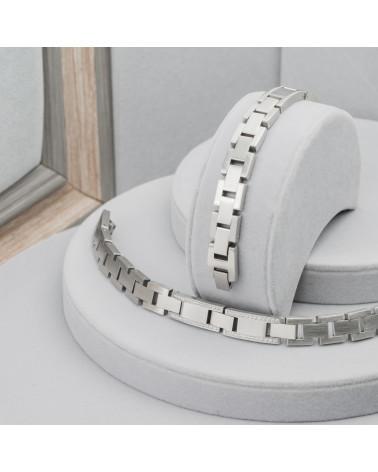 Ciondolo Di Ottone Smaltato Con Strass Completo Di Cordoncino Cerato E Scatola - Coccinella 30mm - Celeste
