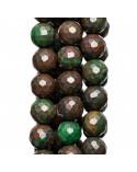Componente Di Corallo Bamboo Con Strass Marcasite 36x45mm