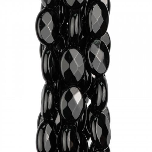 Componente Di Resina Curvato Goccia 35x60mm 4pz Nero