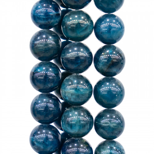 Cristalli Tondo Forato 30mm 12pz - Argento