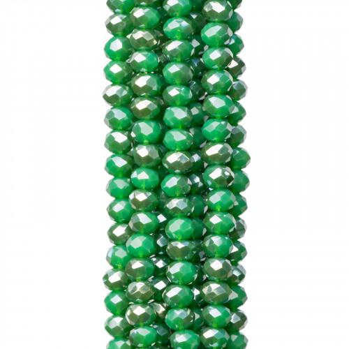 Giada Coreana Tondo (A) 06mm Verde Peridoto