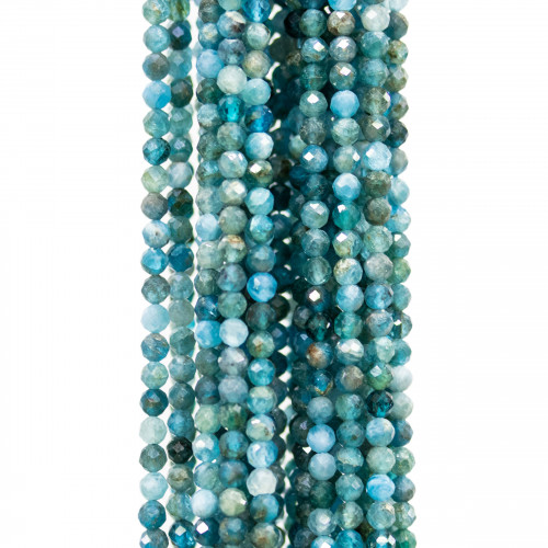 Giada Rondelle Sfaccettate 08x05mm Multicolor
