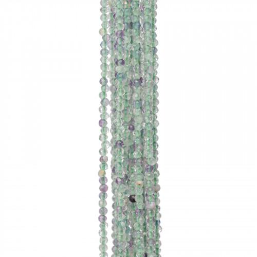 Giada Rosa Sfaccettato 14mm