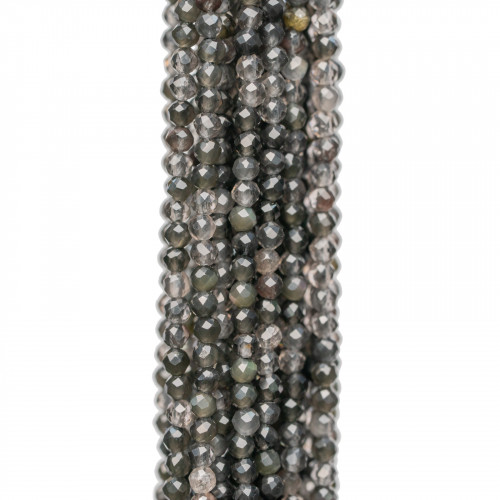 Giada Smeraldite Gocce Briolette Sfaccettate 9x40mm