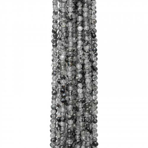 Giada Smeraldite Sfaccettato 16mm
