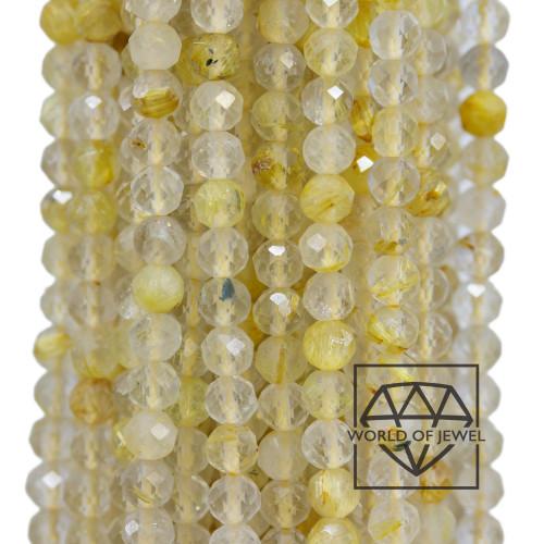 Giada Smeraldite Sfaccettato 20mm