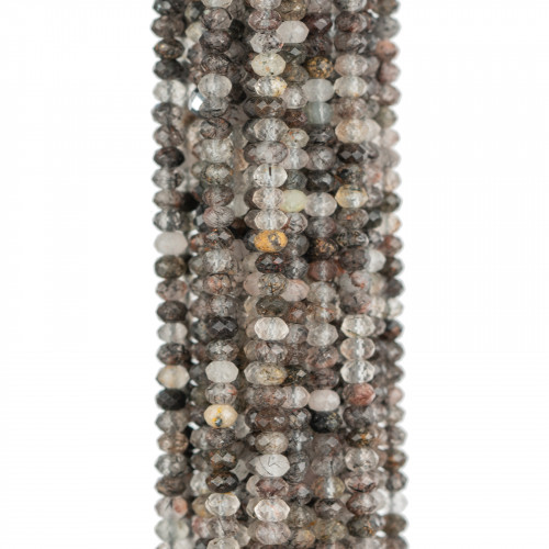 Giada Smeraldite Sfaccettato 25mm 8pz