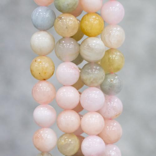 Giada Tinta Rondelle Sfaccettato 04x02mm - Smeraldo