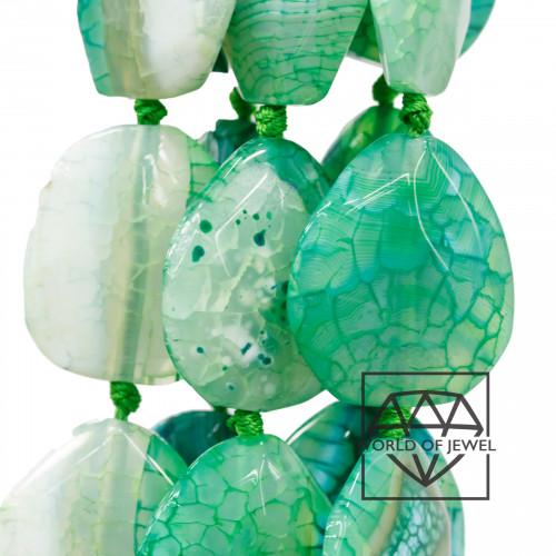 Goccia Di Ceramica Con Strass Mideast Mezzoforo 11x18mm 16pz - Rosa