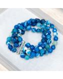 Lapislazzuli Blu Rinforzato Tondo Piatto Liscio 18mm