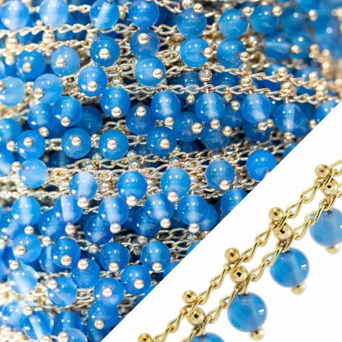 Orecchini Di Argento 925 E Perle Di Fiume 9,0-9,5mm 6 Paia Peacock