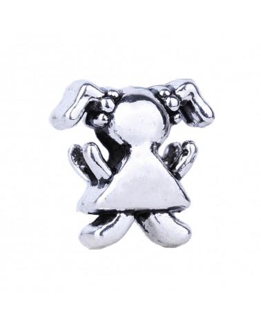 Orecchini Di Perle Di Fiume E Ottone 6mm 6 Paia - Grigio
