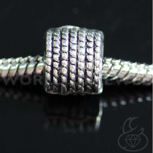 Orecchini Di Perle Di Fiume E Ottone 8mm 6 Paia - Rosa
