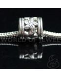 Orecchini Di Perle Di Fiume E Ottone 9mm 6 Paia - Grigio