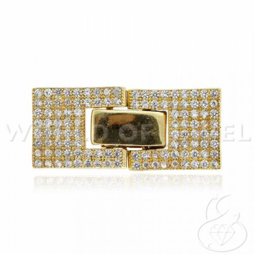 Pallina Di Resina Con Disegni Floreali Con Foro Passante 18mm - 1pz - Trasparente Con Fiore Azzurro