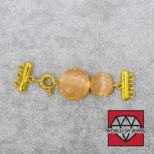 Pasta di Corallo Rosa Arancio Tondo (A) 04mm