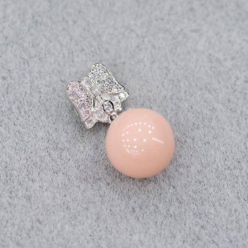Pasta di Corallo Sfaccettato Rosa (A) 02mm