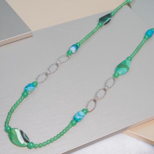 Marcasite Strass Con Perle Di Fiume Piatte Barocche 25mm 5pz