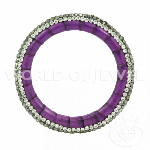 Perle di Fiume Tondo 7,0-7,5mm A Bianco