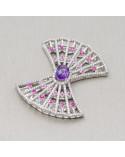 Perle di Fiume Tondo 7,0-7,5mm A+ Bianco Rigato