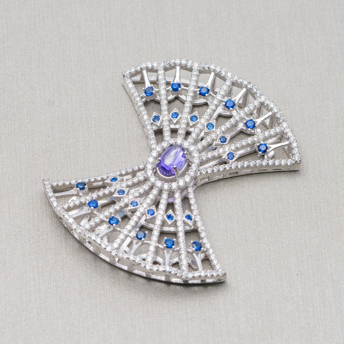 Perle di Fiume Tondo 7,0-7,5mm A Grigio