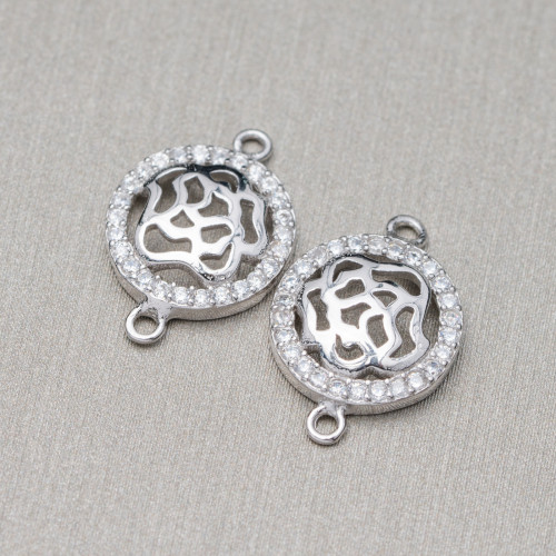 Perle di Fiume Tondo 7,5-8,0mm A Rosa