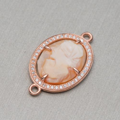 Perle di Fiume Tondo 10,0-10,5mm A Bianco