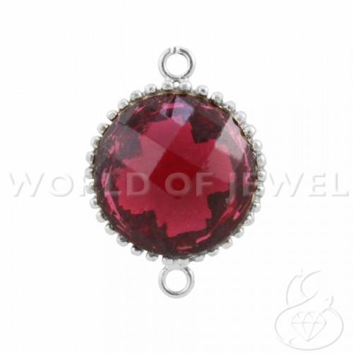 Perle di Fiume Tondo Semiround AAAG 13+mm - Rosa