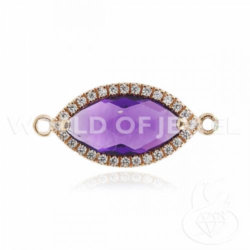 Perle Di Maiorca Bianca Ovale Piatto Barocco 20x30mm