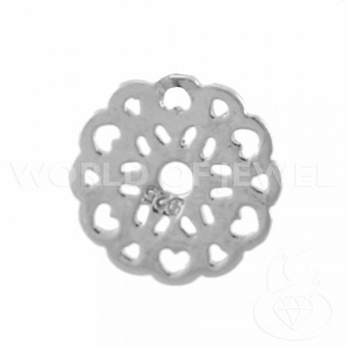 Perle di Maiorca Bianca Tondo Liscio 14mm