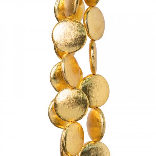 Perle di Maiorca Grigio Argentato Tondo 14mm